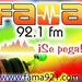 Fama 92.1 FM Logo