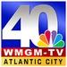 NBC 40 WMGM Logo