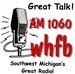 WHFB AM 1060 - WHFB Logo