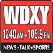 1240 AM - 105.9 FM - WDXY Logo