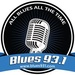 Blues 93.1 - WIIN Logo