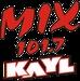 Mix 101.7 - KAYL-FM Logo