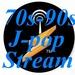70s 90s J pop Stream Logo