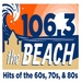 106.3 The Beach - KKOR Logo