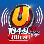 Ultra 104.9 FM - KJAV Logo