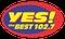 102.7 Yes The Best - DXHT Logo