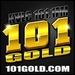 101 Gold - KVLC Logo