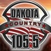 Dakota Country 105.5 - KMOM Logo