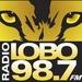 Radio Lobo 98.7 - KLOQ-FM Logo