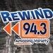 Rewind 94.3 - WERW Logo