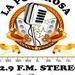 Radio La Poderosa 92.9 FM Stereo Logo
