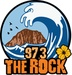 97.3 The Rock - KEBF-LP Logo
