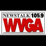 News Talk 105.9 - WVGA Logo