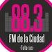 Fm de la Ciudad 88.3 Logo