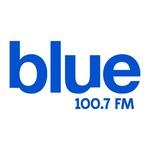 Blue 100.7 Logo