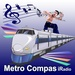 Metro Compass iRadio Logo