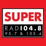 Super Rad104.8 - FM 95.7 Logo
