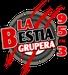 La Bestia Grupera - XEVP Logo