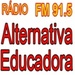 Alternativa Educadora FM Logo