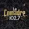 La Comadre 102.7 - XEDM Logo