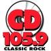 CD 105.9 - KKCD Logo