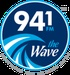 94.1 The Wave - WBAN Logo
