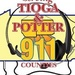 Tioga County Police, Fire, and EMS Logo