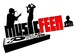 MUSICFEEN BROADCASTING Logo