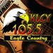 105.5 Eagle Country - KLCY Logo