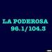 La Poderosa 96.1 & 104.3 - KQFX Logo