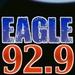 Eagle 92.9 - WEGX Logo