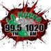 La Nueva 1020 - KMMQ Logo