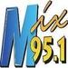 Mix 95.1 - KMXI Logo