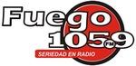 Radio Fuego 105.9 Logo