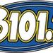B 101.7 - WBEI Logo