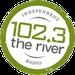 102.3 The River - WXRG Logo