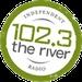 102.3 The River - WXRG Logo