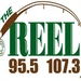The Reel 95.5 & 107.3 - KQZR Logo