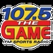 107.5 The Game - WNKT Logo