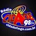 Rádio Cidade 98.1 FM Logo