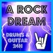 A ROCK DREAM - Drums & Guitar 24H Logo