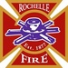 Rochelle Fire and Police Logo