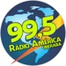 Rádio América Uberaba Logo
