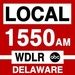Local 1550 AM - WDLR Logo