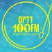 100FM רדיוס Logo