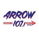 Arrow 107.1 - KQEO Logo