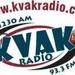 KVAK-FM Logo