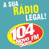 Rádio 104 FM Novo Som