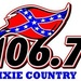 Dixie Country 106.7 - WOKA-FM Logo