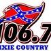 Dixie Country 106.7 - WOKA-FM Logo